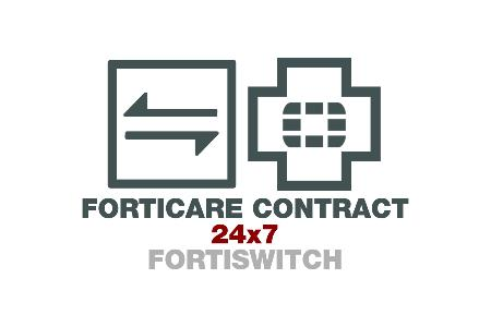 FortiSwitch-448D-POE 24x7 FortiCare Contract
