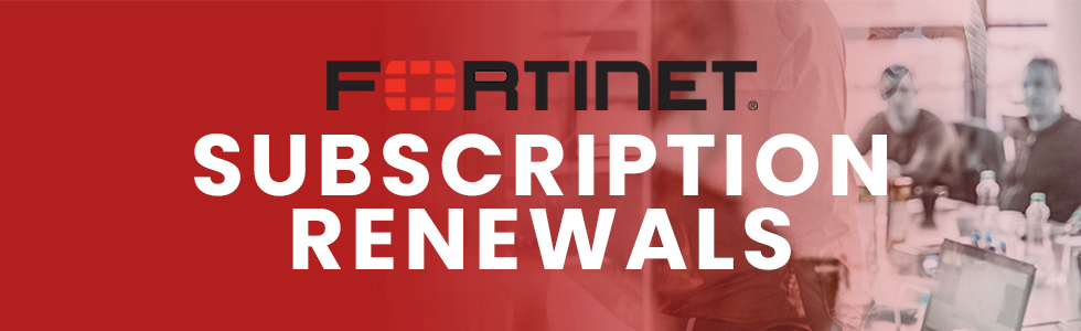 Fortinet Support Renewals - Nouveau Store
